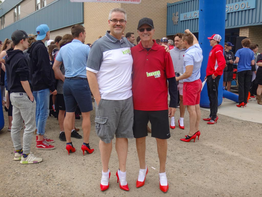 Sylvan Lake Walk a Mile in Her Shoes Particpant